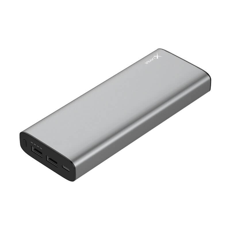 XLAYER POWERBANK PLUS MACBOOK 20.100 MAH SPACE GRAY
