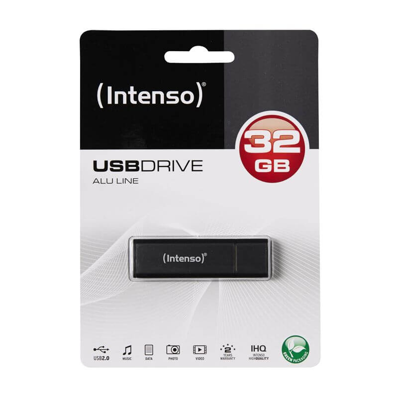 INTENSO USB 2.0 PENDRIVE ALU LINE ANTRACIT 32GB