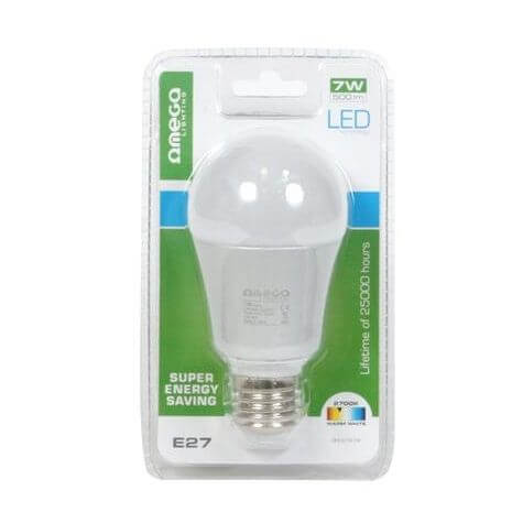 Omega Freestyle LED izzó BULB 2700K E27 7W